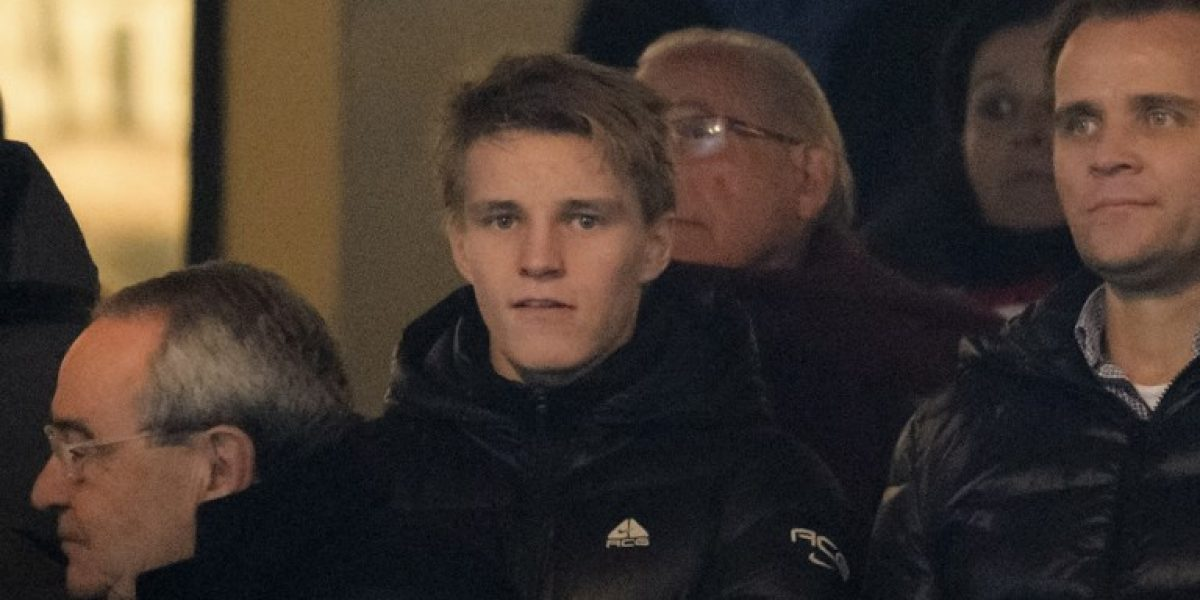 Martin Odegaard debutó con la filial del Real y fue inscrito para la Champions