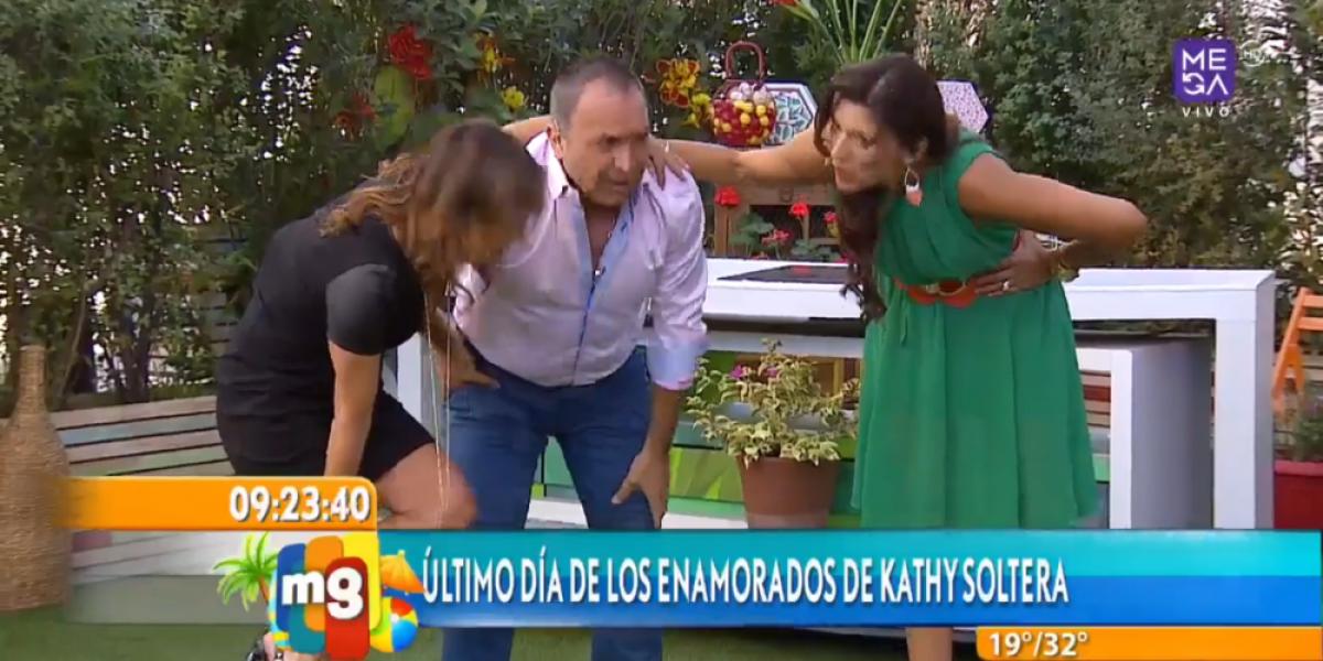La monumental caída de Lucho Jara en