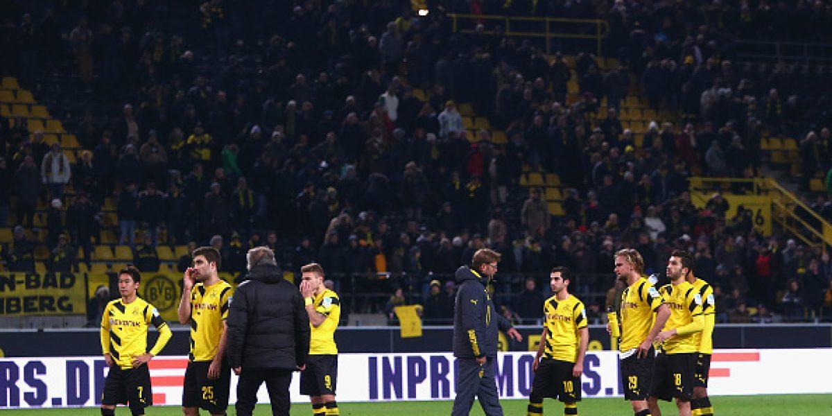 El Dortmund no para de hundirse en Alemania tras nueva derrota