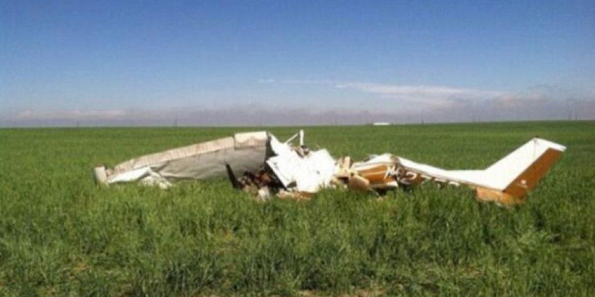 Pilotos se tomaban selfies durante vuelo y estrellaron esta avioneta