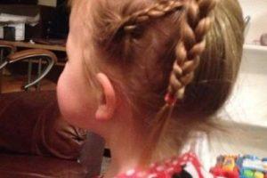 Así peinó este padre a su hijita. Foto:Facebook/Greg Wickherst. Imagen Por: