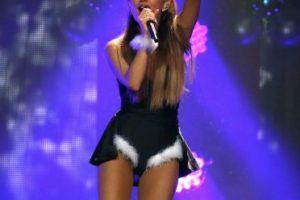 """Ariana Grande es la """"Vaca pequeña"""", pues en China, su voz les recuerda a la de Mariah. Foto:Getty Images. Imagen Por:"""