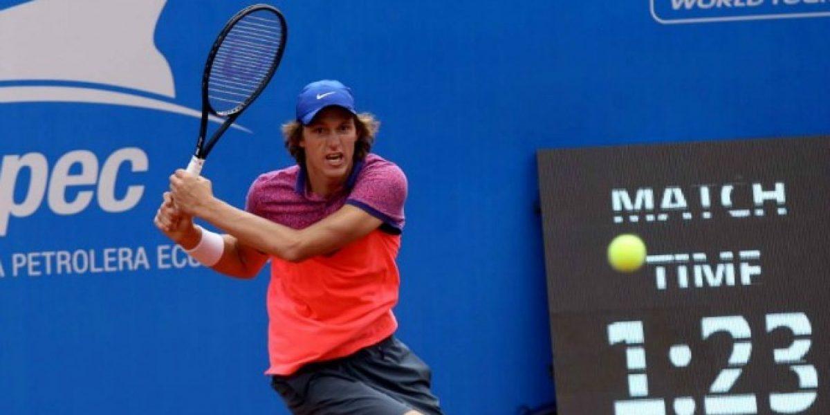 Jarry se despidió luchando del ATP de Quito al caer ante Lajovic