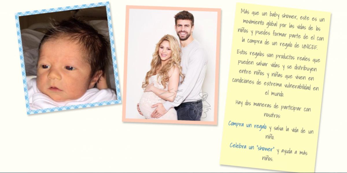 FOTO: Shakira comparte la primera foto del rostro de Sasha, ¿a quién se parece?