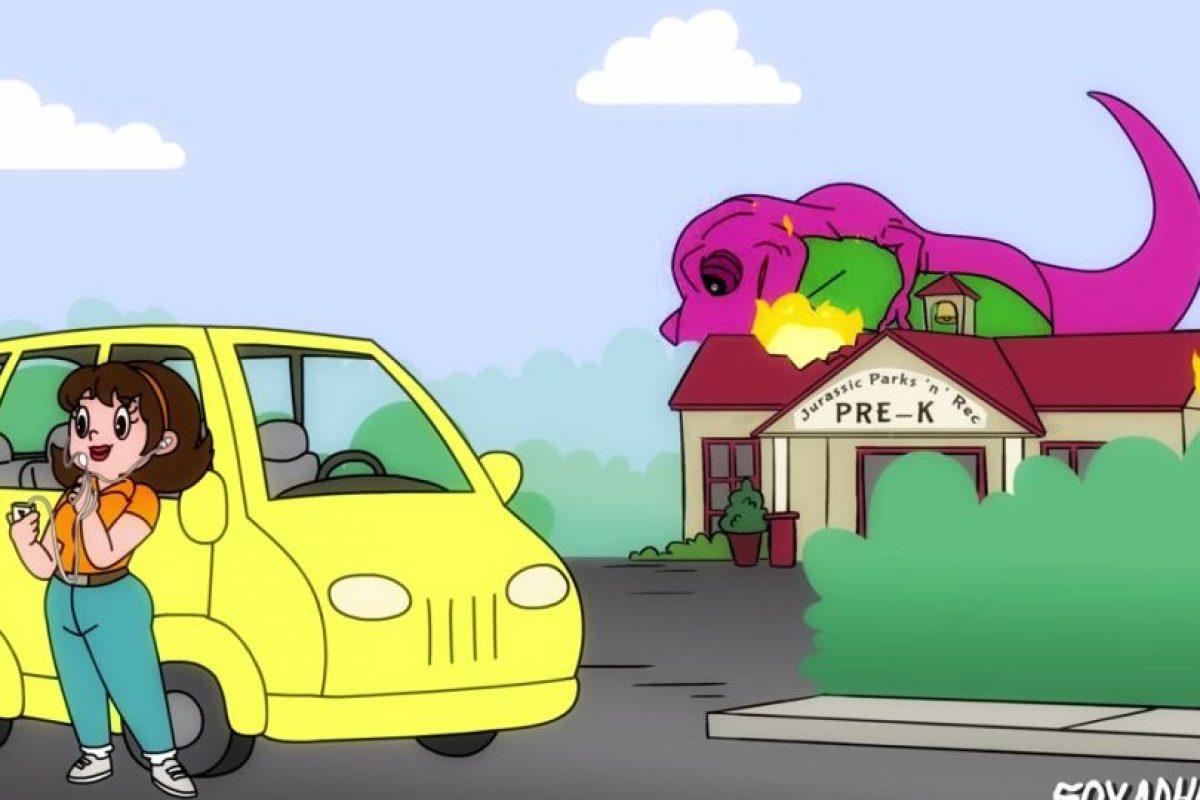 Foto:YouTube Animation Domination High-Def. Imagen Por: