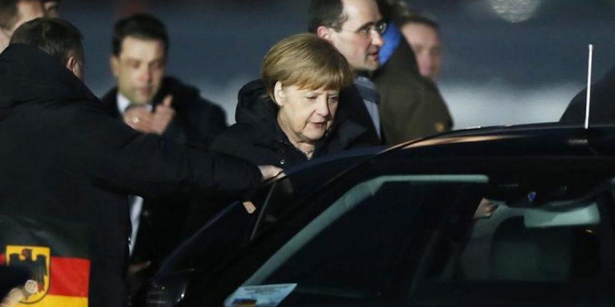 Merkel y Hollande llegan a Moscú para presentar a Putin su plan de paz