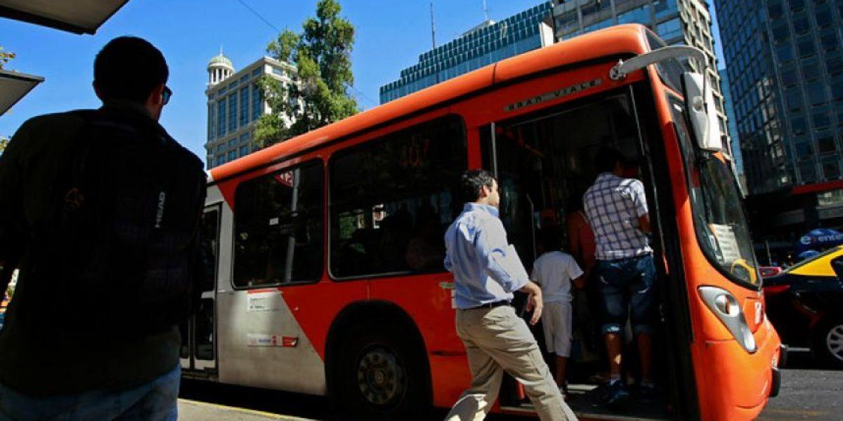 Ministerio de Transportes realiza balance de gestión de Transantiago