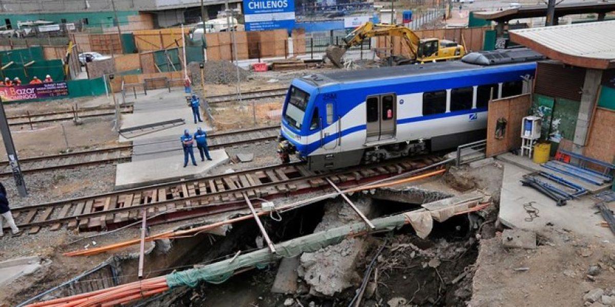 Metro de Valparaíso normaliza sus servicios tras emergencia de ayer en estación Barón