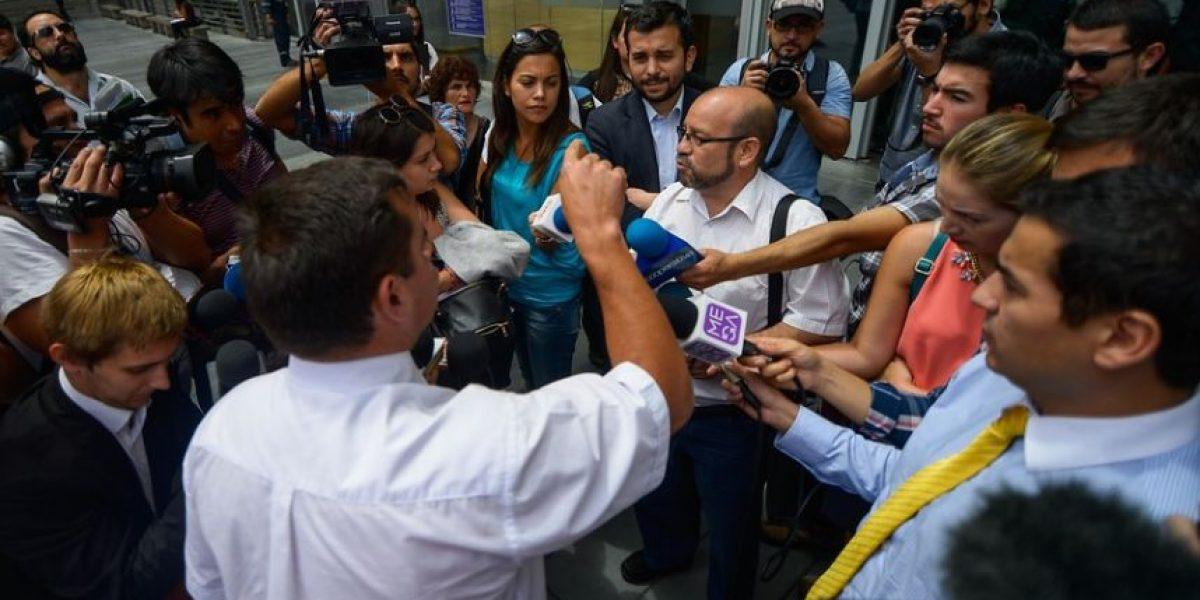 Sin acuerdo y con otro encontrón concluyó audiencia de conciliación entre Rolando Jiménez y el