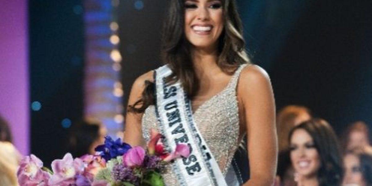 FOTO: ¿Qué le pasa? Miren lo que hizo Miss Universo con un plato de pasta