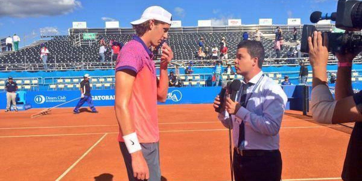 Entrenador de Jarry explica el atípico juego de la máxima promesa del tenis chileno