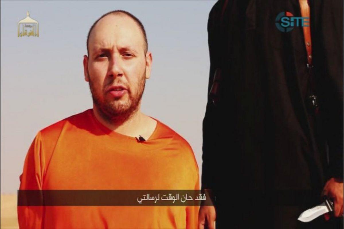 Sotloff fue secuestrado en Siria. El periodista fue asesinado el 2 de septiembre de 2014. Foto:AP. Imagen Por: