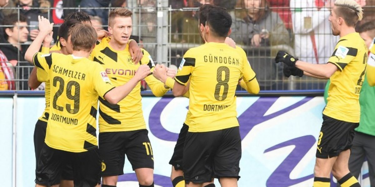 El Dortmund vuelve a celebrar un triunfo en la Bundesliga tras cinco fechas sin victorias