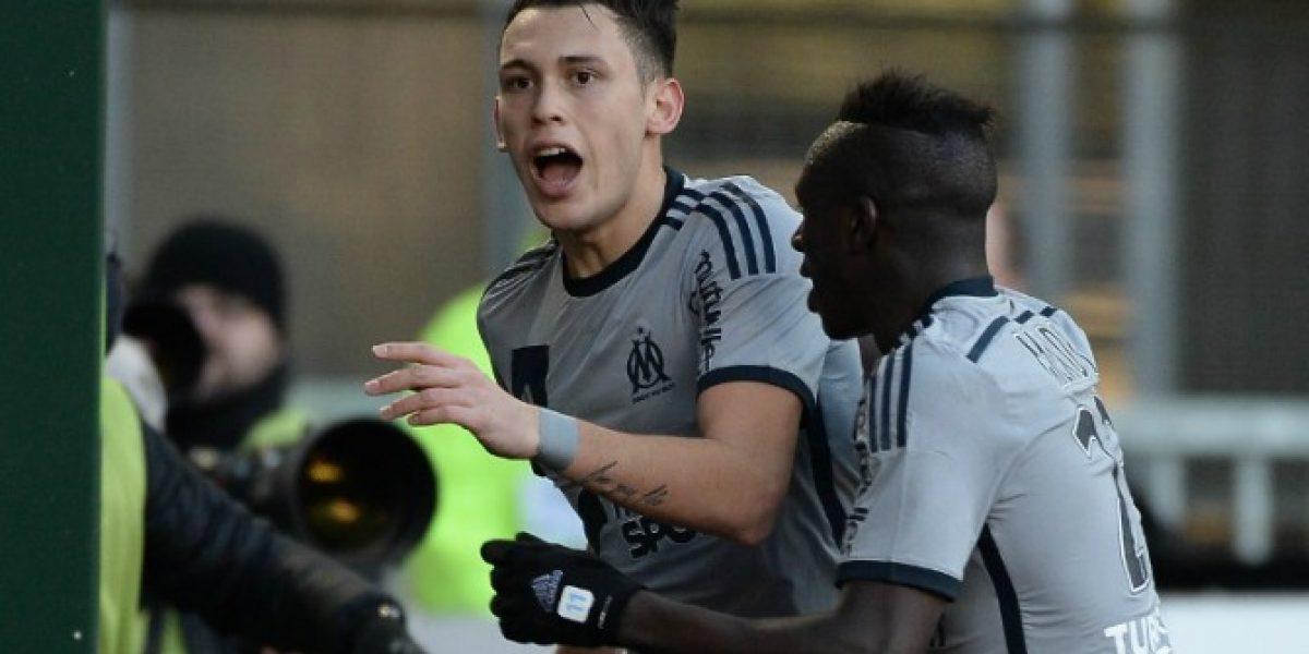 El debut goleador de Ocampos no le bastó al Marsella que se aleja de la punta en Francia