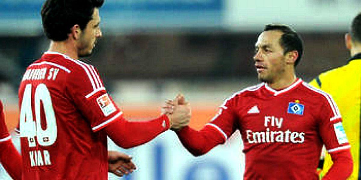 Marcelo Díaz triunfó en el duelo de chilenos de la Bundesliga alemana