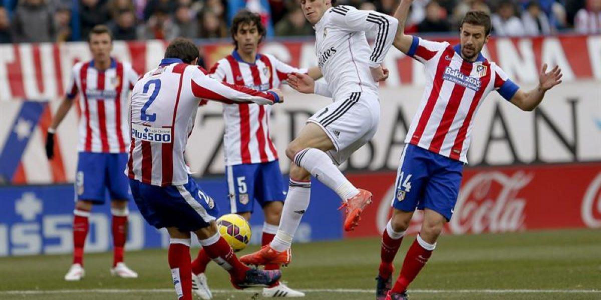 El Atlético volvió a darle una clase al Real y lo goleó sin apelaciones en el Calderón