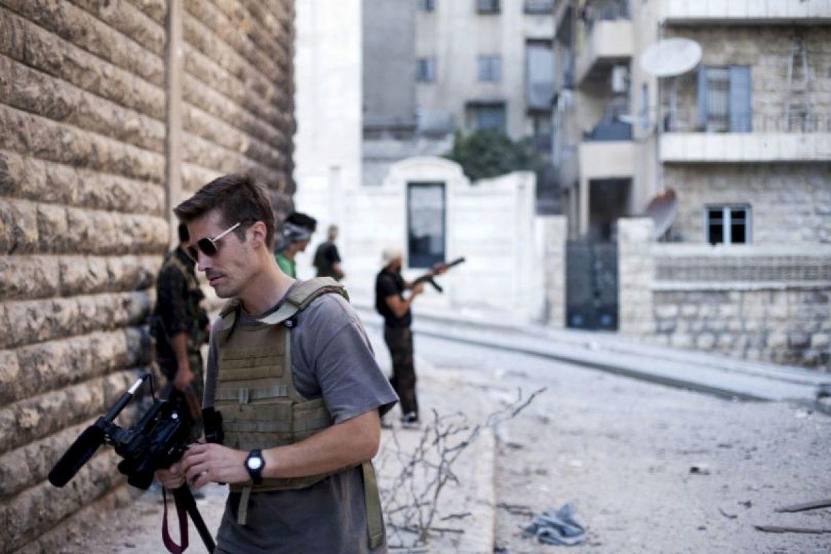 James Foley, el periodista estadounidense fue el primero cuyo video de decapitación fue divulgado. Foto:AP. Imagen Por: