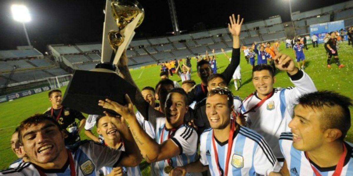 Argentina venció a Uruguay y se quedó con el título y el boleto a Río 2016