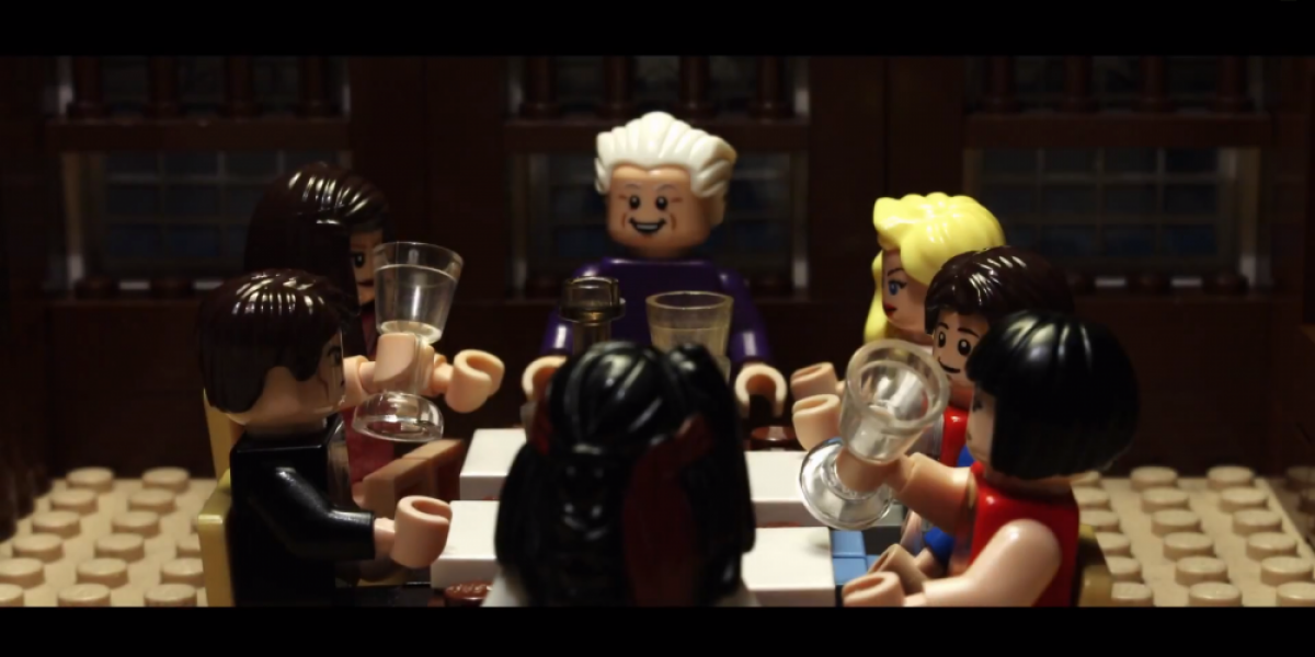 Así luce Christian Grey y Anastasia en versión Lego