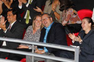 Sebastián Dávalos y Natalia Compagnon Foto:Agencia Uno. Imagen Por: