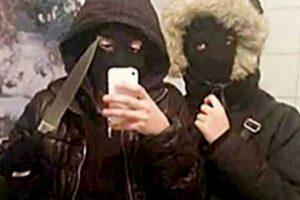 Estos adolescentes se retrataron momentos antes de robar 400 dólares. Foto:Twitter. Imagen Por: