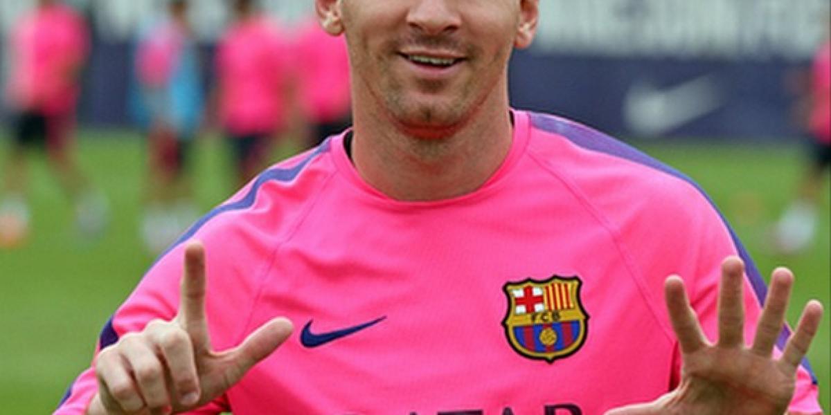 Así celebró Lionel Messi llegar a 10 millones de seguidores en Instagram