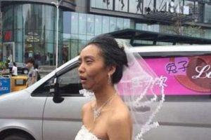 Pero su novio hizo otra cosa. Foto:Weibo. Imagen Por:
