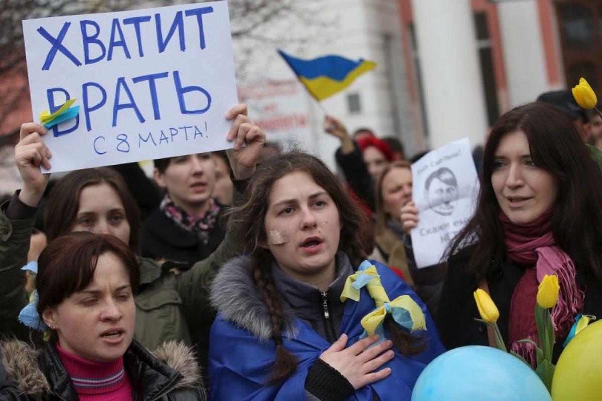 Muchos protestas se han realizado alrededor del mundo para pider la paz. Foto:Getty Images. Imagen Por: