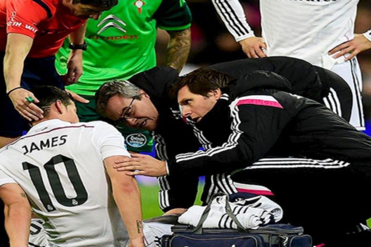 Rodríguez fue sometido a una cirugía. Foto:twitter.com/realmadrid. Imagen Por: