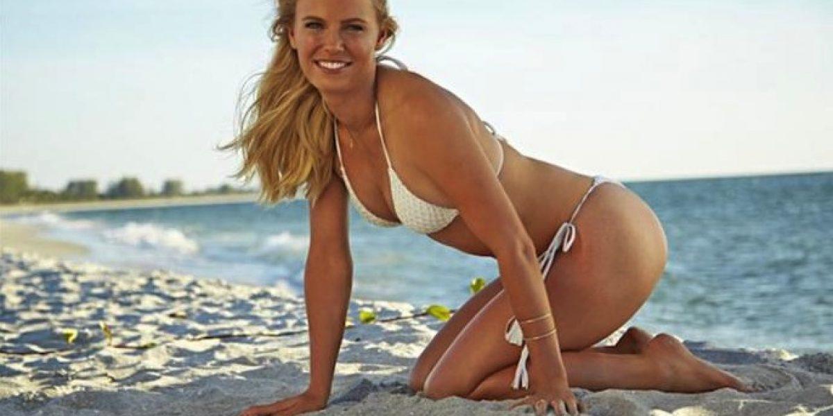 Galería: Wozniacki, posó en infartante sesión fotográfica para Sports Illustrated