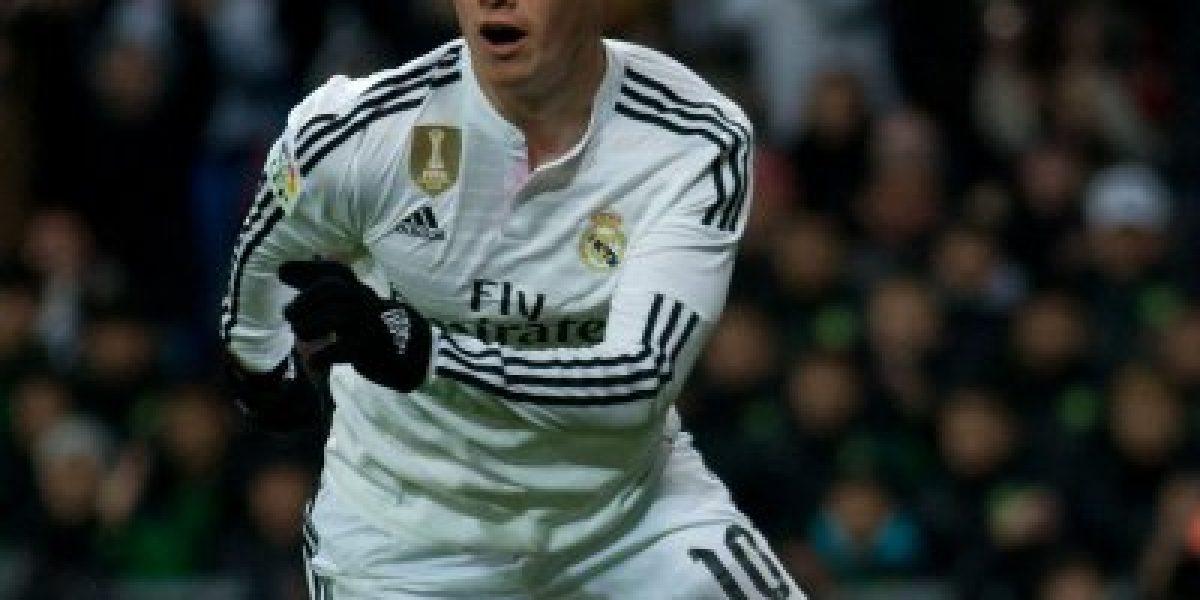 Por esta razón James Rodríguez y Sami Khedira serán castigados en el Real Madrid
