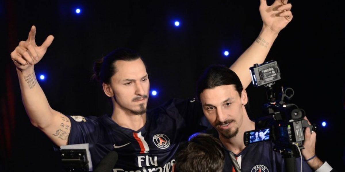 FOTOS: Zlatan Ibrahimović presume selfies con su figura de cera