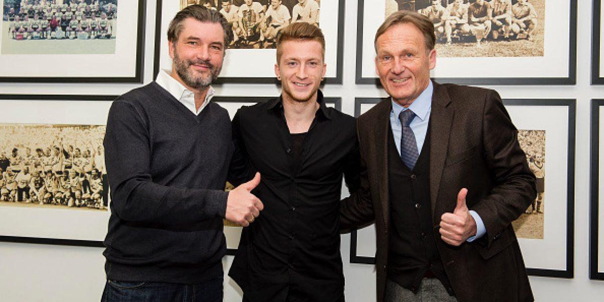 Confirmado: Marco Reus no se mueve y extendió su contrato con Dortmund