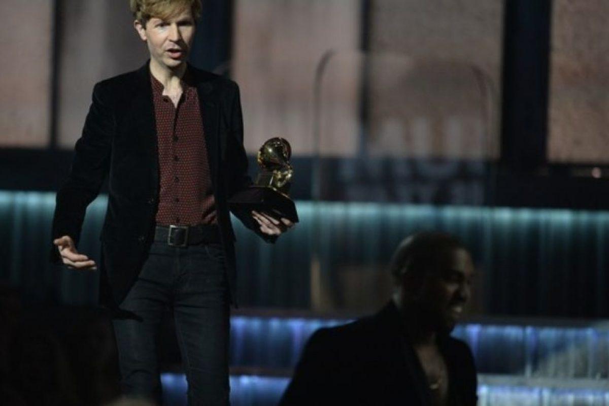 Apenas Beck le ganó a Beyonce, Kanye West quiso boicotearlo. Foto:Getty Images. Imagen Por: