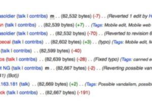 Wikipedia comenzó a banear a los que hackearon. Foto:Wikipedia. Imagen Por: