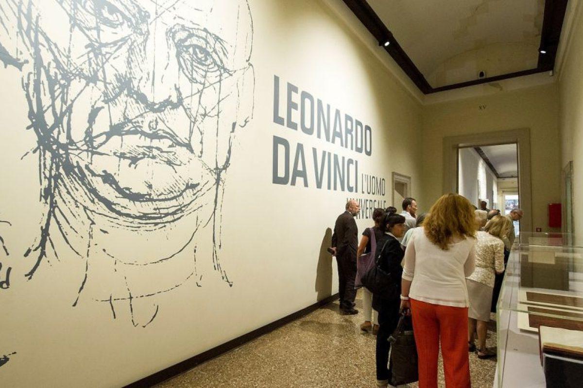 Las obras de Da Vinci han sido expuestos en gran parte de Europa. Foto:Getty Images. Imagen Por: