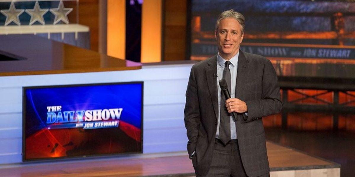 El comediante Jon Stewart abandona su exitoso programa