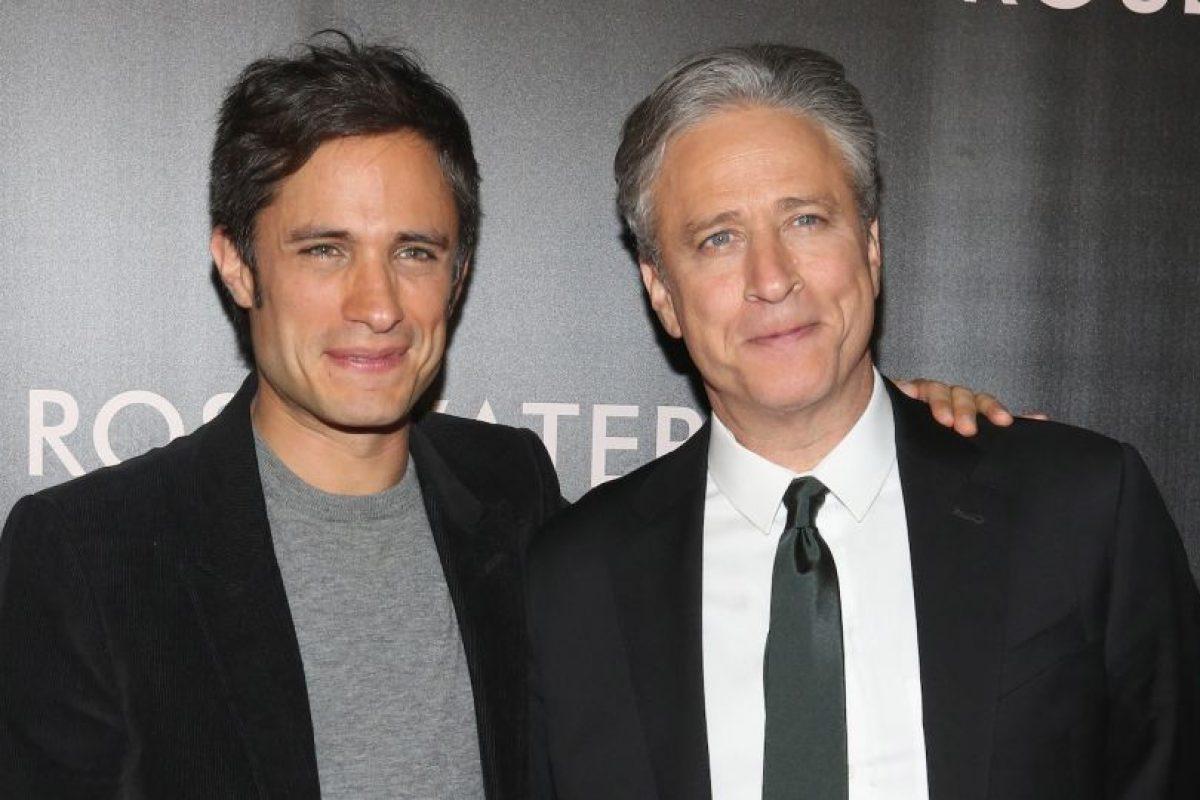 Junto al actor mexicano Gael García Bernal Foto:Getty Images. Imagen Por: