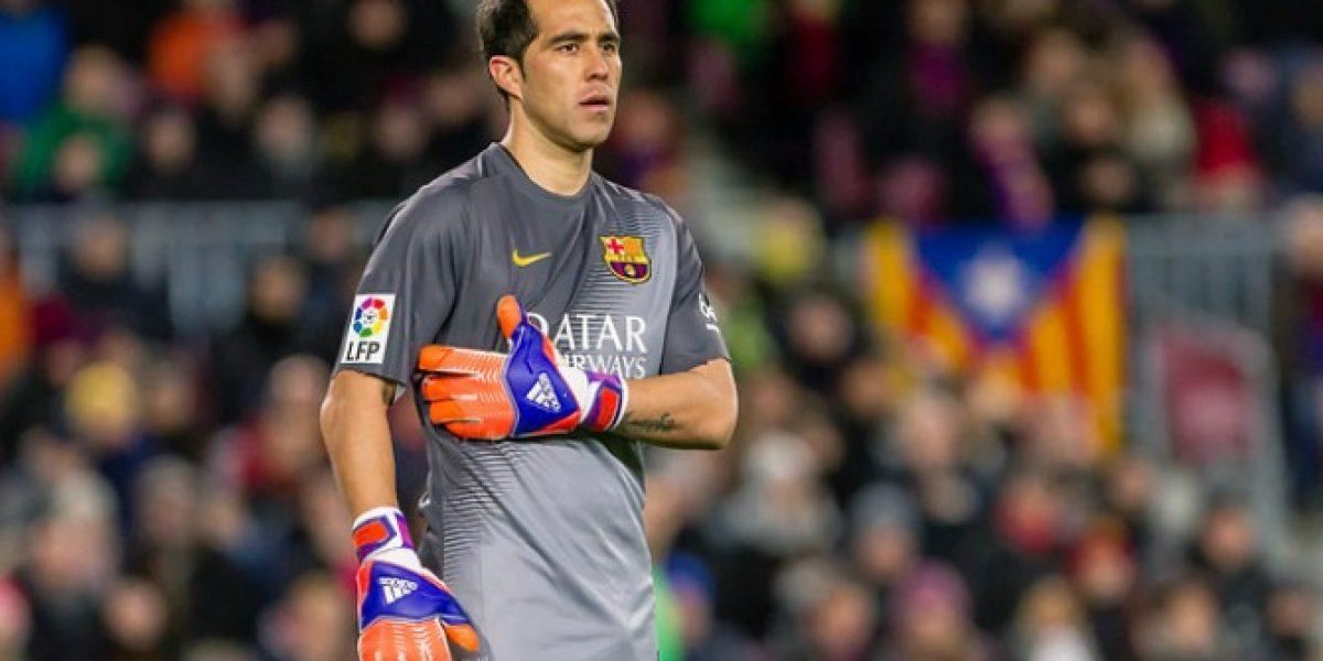 Claudio Bravo no fue convocado para semifinales de Copa del Rey ante Villarreal