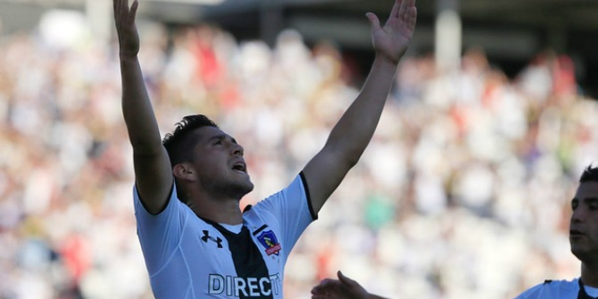 Juan Delgado hace la diferencia en Colo Colo: