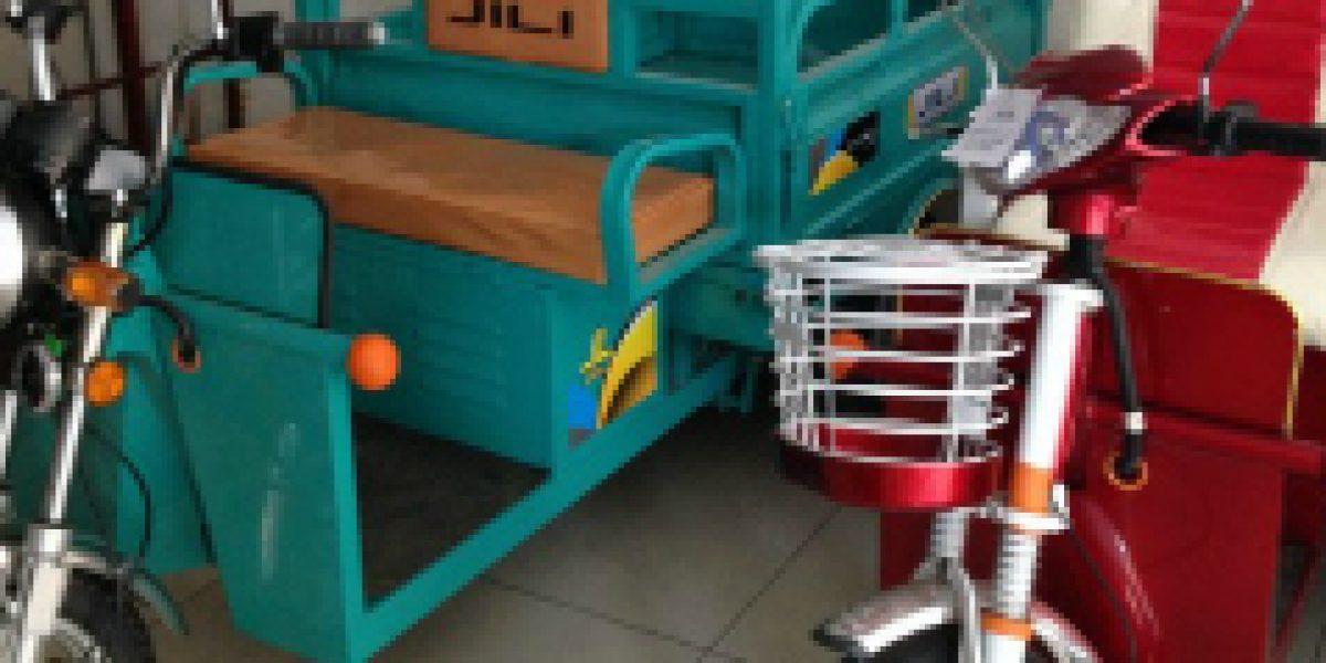 El nuevo boom de los triciclos eléctricos chinos en Santiago