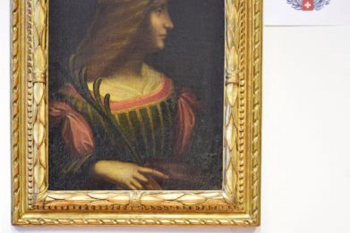Este es el Retrato de Isabella D'Este. Foto:AP. Imagen Por: