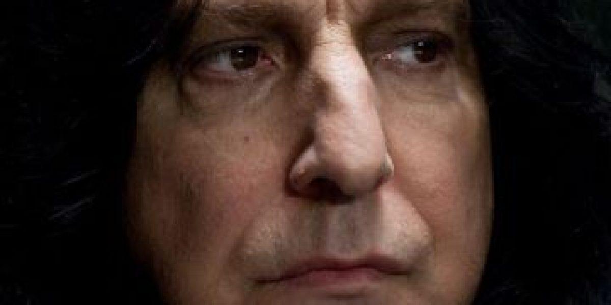 """VIDEO: La trágica historia de """"Severus Snape"""" en menos de 15 minutos"""