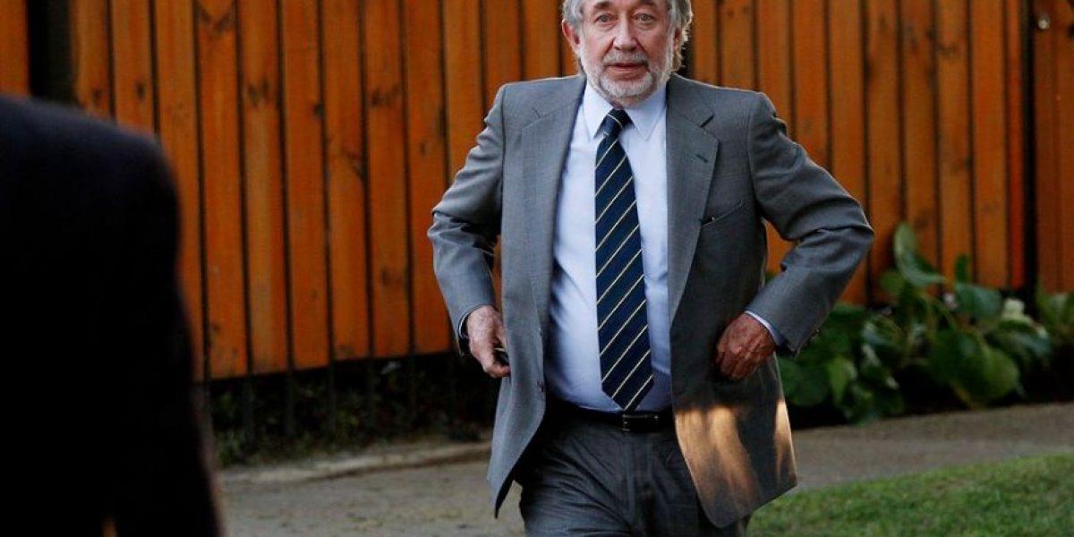 Jovino Novoa no presentará apelación para cambiar su causa de tribunal