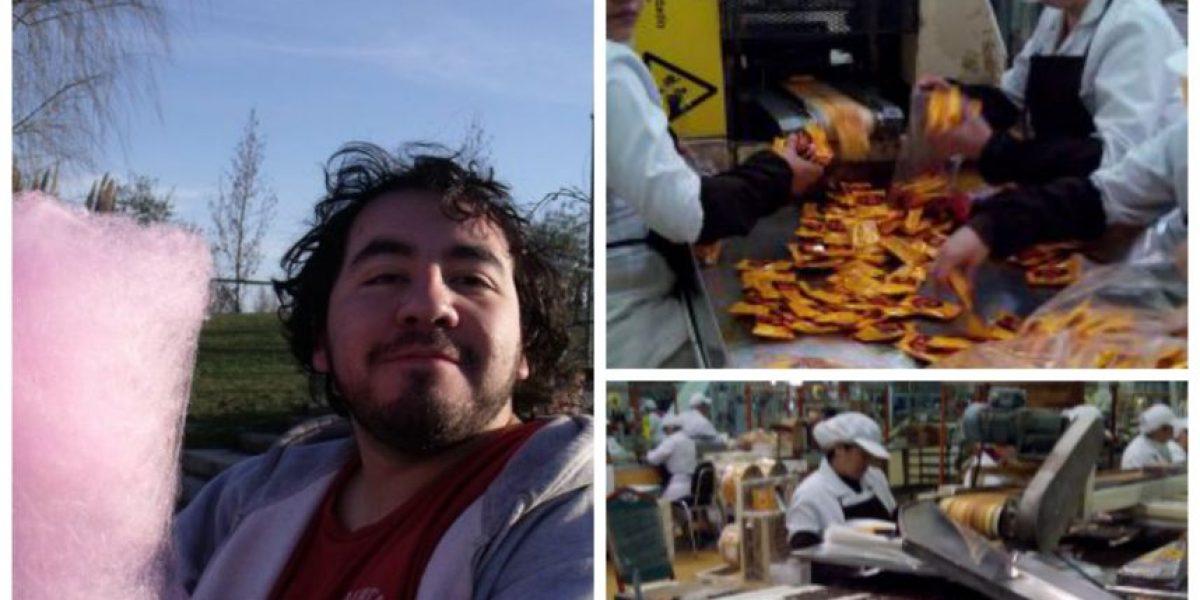Gabo y la fábrica de chocolates Fruna: Conoce al joven que visitó la industria más dulce de Chile