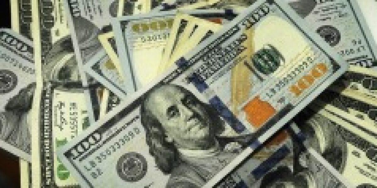 Precio del dólar se desploma $7 este jueves