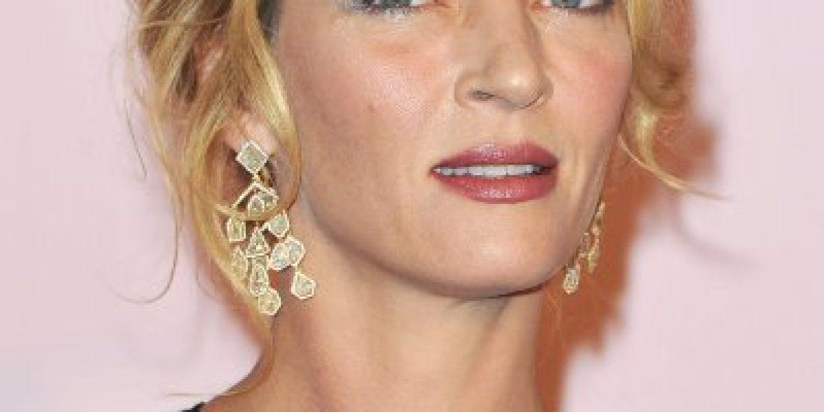 Maquillador de Uma Thurman explica qué le pasó al rostro de la actriz