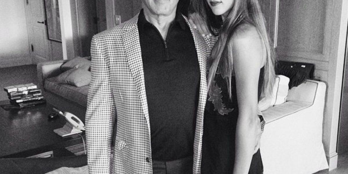 FOTOS: La bella hija de Sylvester Stallone irrumpe en el modelaje