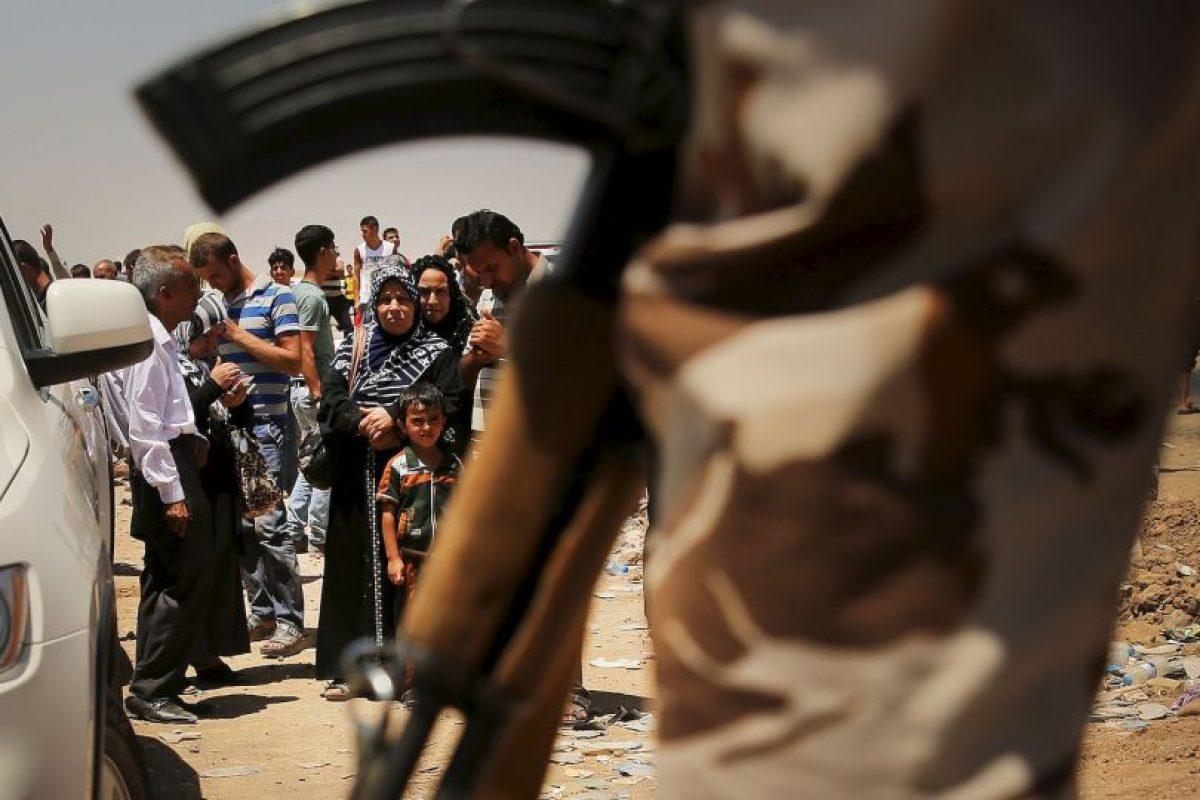 """5. """"Habrá ayuda humanitaria a quienes viven bajo este reinado del terror"""" Foto: Getty Images. Imagen Por:"""