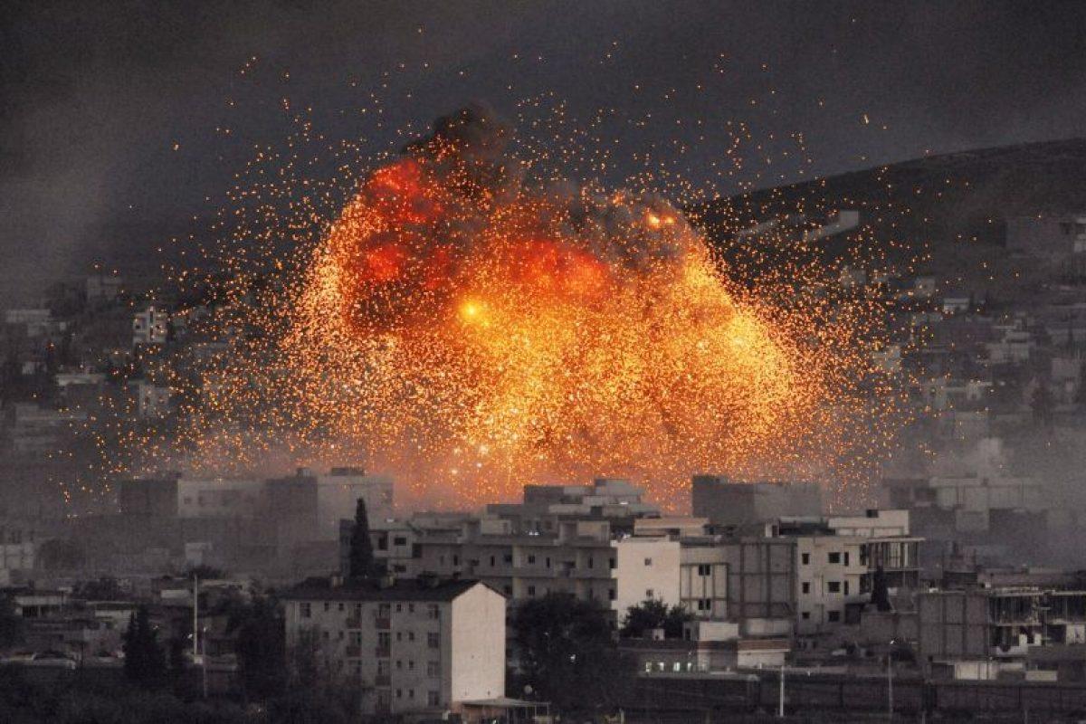 En septiembre pasado, Estados Unidos comenzó su ataque en contra de Estado Islámico Foto:Getty Images. Imagen Por: